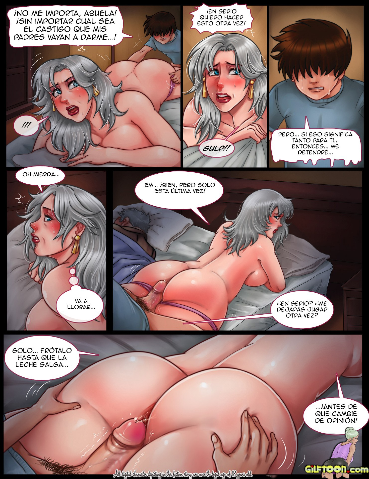 A Gilf Tale – Gilftoon: Chapter 1 - Page 9