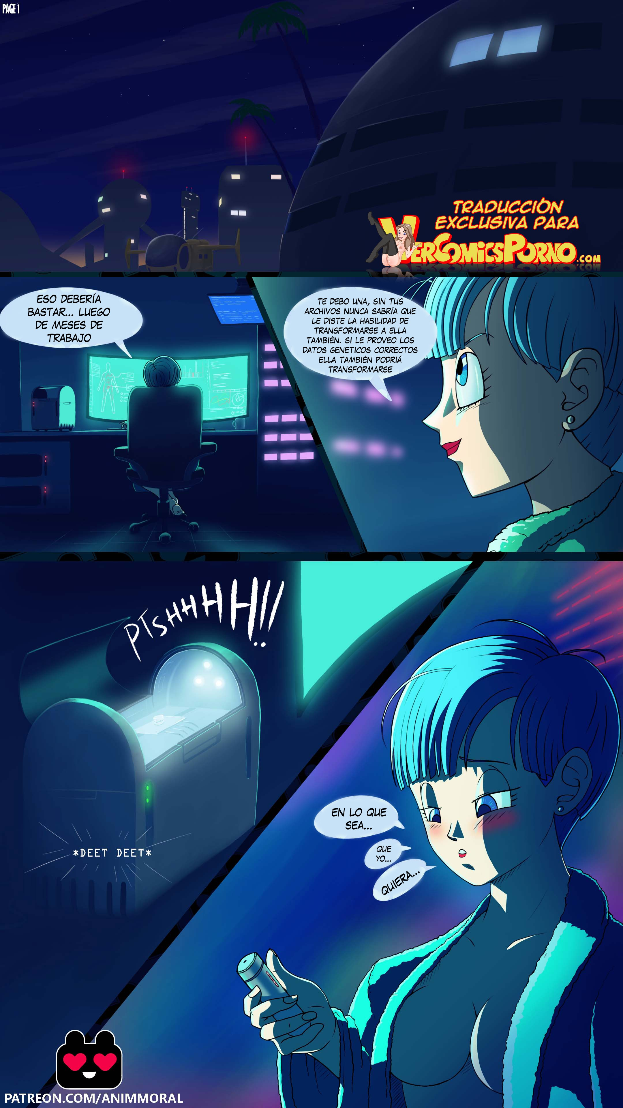 Androide 18 x Bulma: Chapter 1 - Page 1