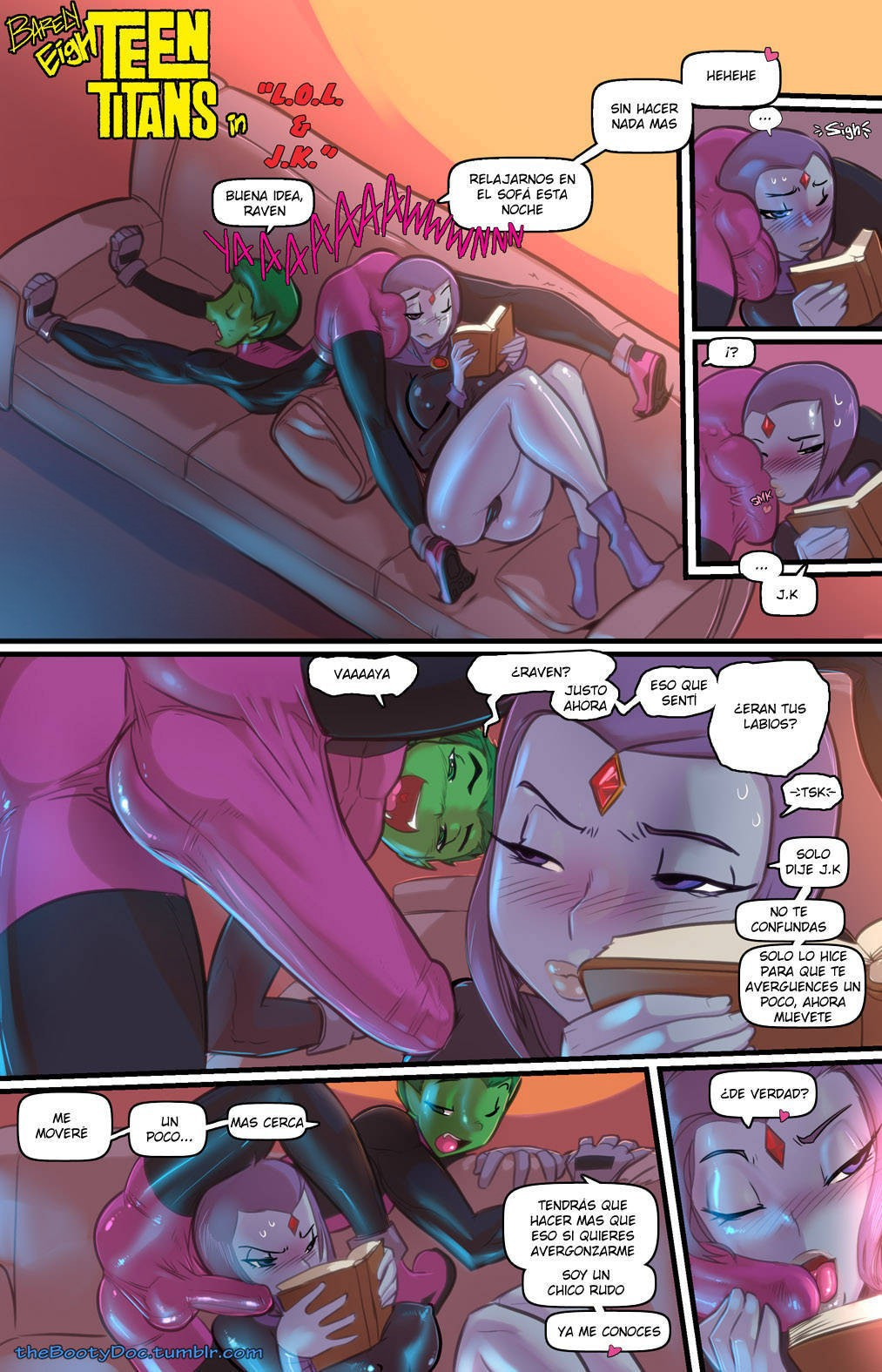 Barely EighTeen Titans: Chapter 1 - Page 1