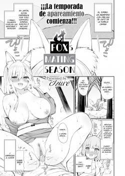 Fox's Mating Season