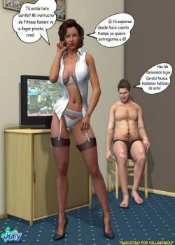 La Mujer Insaciable de Sexo - 3D