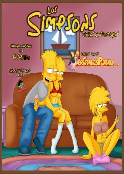 Los simpsons Viejas Costumbres