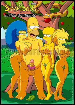 Picnic Prohibido – Los Simpsons